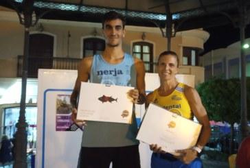 Muriel y Cobos ganan la Milla Nocturna de Isla Cristina