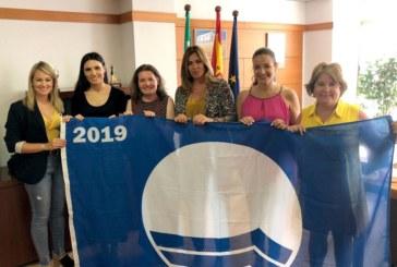 Recogida de la Bandera Azul de la Playa de Islantilla