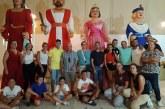 A la Hermandad del Rocío corresponde el desfile de gigantes y cabezudos en el Carmen