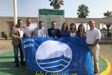 El Puerto Deportivo de Isla Cristina ya luce su Bandera Azul