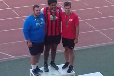 Plata y Bronce para Inés Sequera y Ricardo Orta en el Campeonato de Andalucía Sub 20