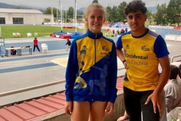 Buenos resultados del atletismo isleño en el Campeonato de España Sub 16