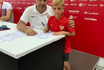 El canterano isleño Ángel Zamudio García ficha por el Sevilla FC