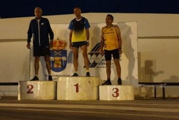 Joaquín Santos, tercer clasificado en la I Carrera Nocturna de Aljaraque