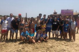 Éxito del Primer Torneo de Bádminton Playa