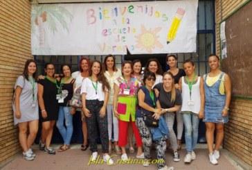 Arranca la Escuela de Verano puesta en marcha por la Delegación Municipal de Educación