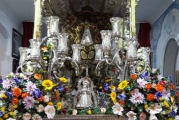 La Carreta del Simpecado de Isla Cristina con nueva puesta de flores