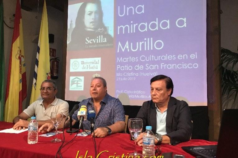 El catedrático Morillas Alcázar ofrece una conferencia en Isla Cristina sobre Murillo