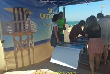 La Playa Central de Isla Cristina ya cuenta con un punto de información turística a metros de la orilla
