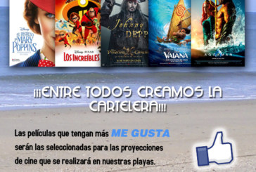Cine de verano – Playas de Isla Cristina