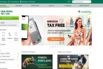 El uso de los servicios digitales web y móvil de Caja Rural del Sur crecen por encima de los dos dígitos