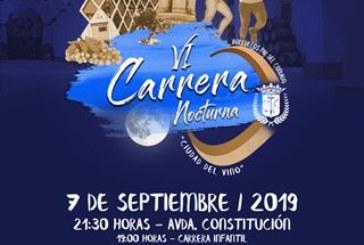 Bollullos alberga la VI Carrera Nocturna «Ciudad del Vino»