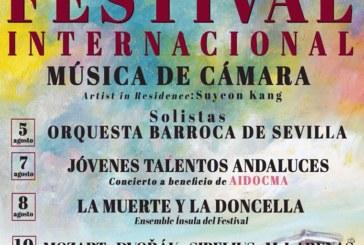 Isla Cristina acogerá el 3º Festival Internacional de Música de Cámara
