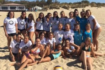 Buenos Resultados de nuestras chicas en la final del Circuito Provincial de Voleyplaya