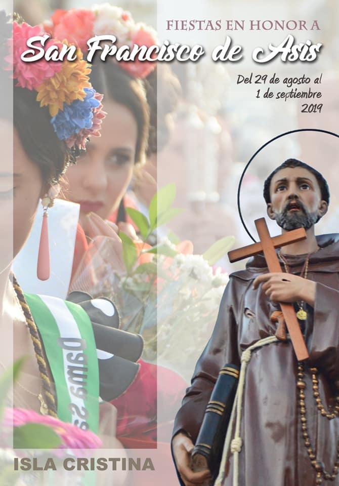 """Cartel de las Fiestas San Francisco de Asís 2.019 Autor: Enrique López Nieves """"Enri"""""""