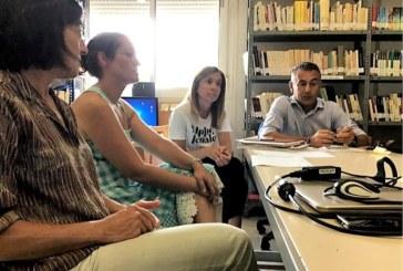 El alcalde isleño y el equipo del Eracis evalúan la marcha del proyecto
