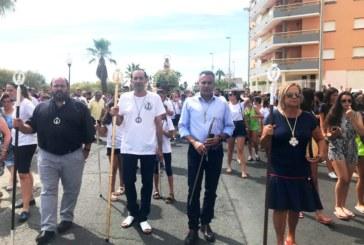 Misa y Procesión para finalizar las Fiestas en Honor a la Virgen del Mar en Isla Cristina