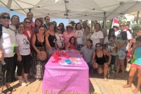 Se escenifica en Isla Cristina una Cadena Humana contra la Violencia a las Mujeres