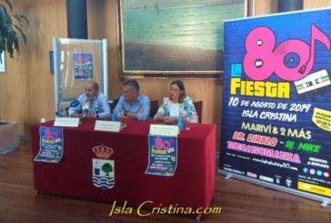 Vuelve la Fiesta de los 80´a Isla Cristina