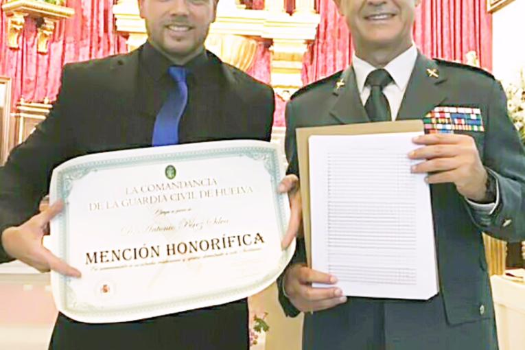 Mención Honorífica» para el Compositor Antonio Pérez Silva de la Guardia Civil.
