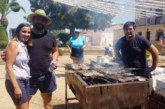 Se reparte media tonelada de caballas asadas durante las fiestas de la Virgen del Mar