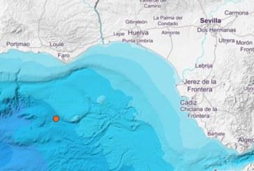 Registrado un terremoto de 3,5 grados en el Golfo de Cádiz
