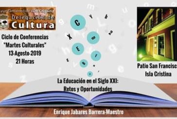 Conferencia «La Educación en el siglo XXI» a cargo de Enrique Jabares