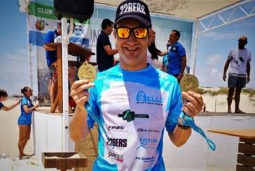 Rubén Gutiérrez, roza el Pódium de la Clasificación General Absoluta en el I Circuito Provincial de Natación en Aguas Abiertas