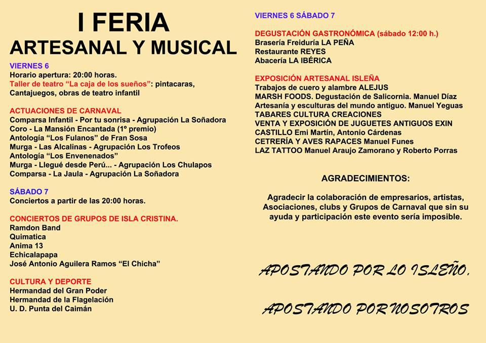Isla Cristina acoge la