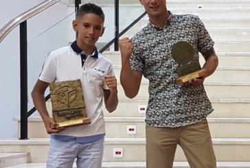 El luchador isleño Miguel Pérez, premiado en la Gala del Deporte de Lepe