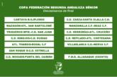 El Moguer Rival del Punta del Caimán en la Copa Federación de Segunda Andaluza Sénior