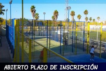 Abierto el Plazo de Inscripción de la Escuela de Pádel  2019 – 2020