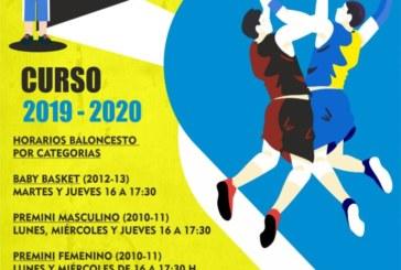 Comienzan los cursos de Baloncesto en Isla Cristina