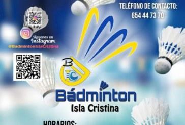 Abierta las inscripciones del Club Bádminton Isla Cristina
