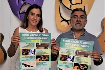 Arranca el nuevo curso de la Escuela de Carnaval de Isla Cristina