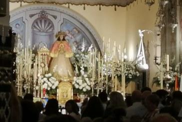 ¡Rocieros isleños en la primera guardia abierta en Almonte a la Virgen del Rocío!