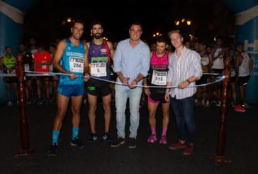 Moreno y López ganan la Carrera Nocturna «Ciudad del Vino» de Bollullos