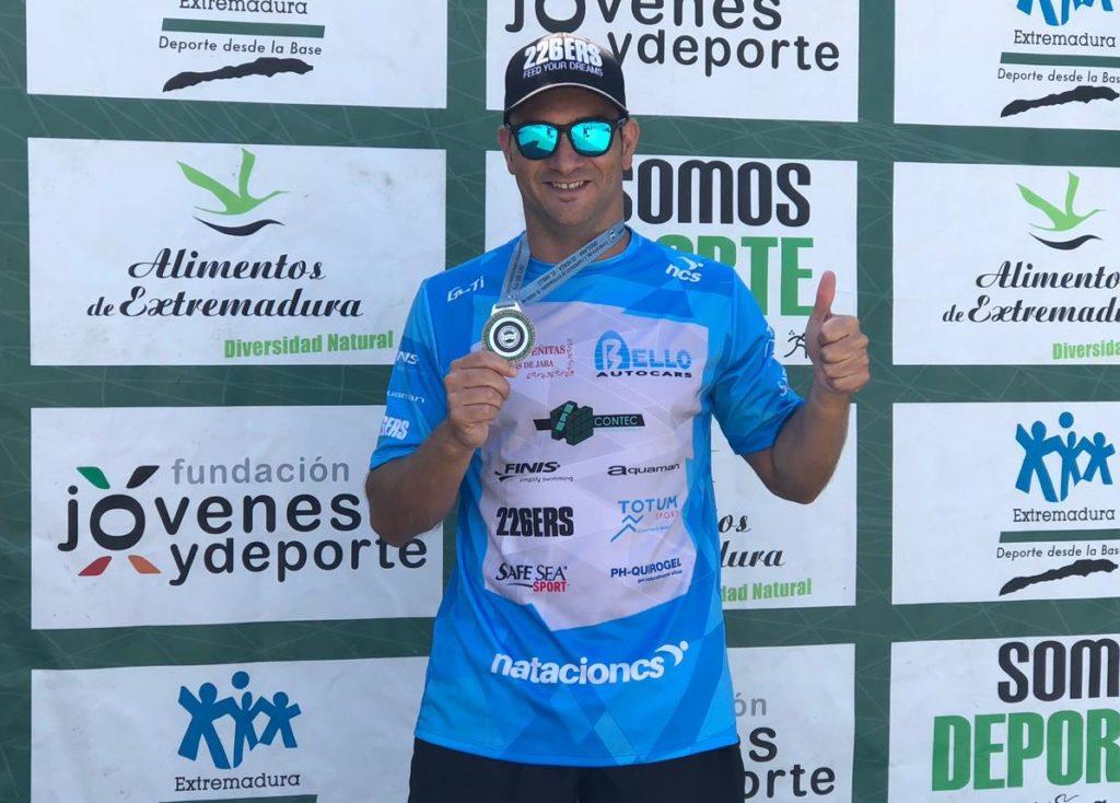 Rubén Gutiérrez se proclama Campeón de Extremadura Máster de Aguas Abiertas