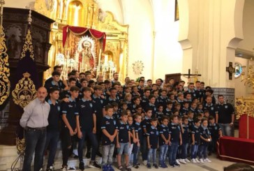 Ofrenda benéfica del Isla Cristina FC a Ntra. Sra. del Rosario