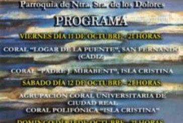 Este fin de semana se celebra en Isla Cristina el XXXIII Festival Coral del Atlántico