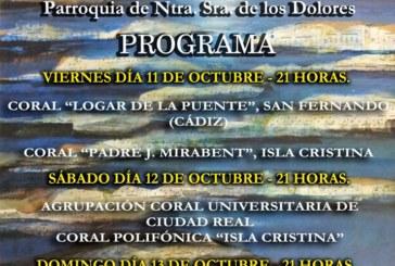 Programación del  XXXIII Festival Coral del Atlántico