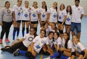 Comienzo de campeonato para las infantiles del Club Voleibol Isla Cristina