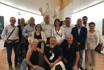 La Galería Muncipal de Arte se llenó para homenajear a Carlos Silva
