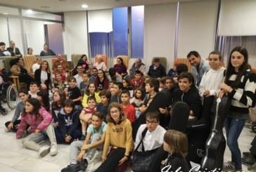 Celebrado un encuentro intergeneracional musical en la residencia de Mayores