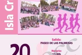 Isla Cristina celebra la II Marea Rosa contra el Cáncer de MAMA