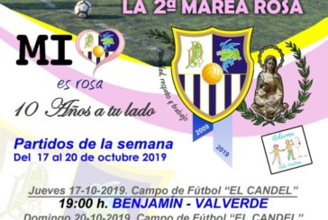 Agenda futbolera Fin de Semana del Club UD Punta del Caimán