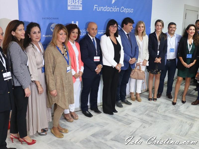 Inauguración del I Congreso Internacional de Catástrofes en Huelva