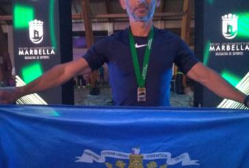 José Antonio Isla, del Club de Atletismo Isla Cristina campeón de Andalucía de Media Maratón