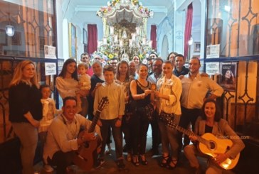 "La casa ""la Picarona "" canta la Salve en Isla Cristina"