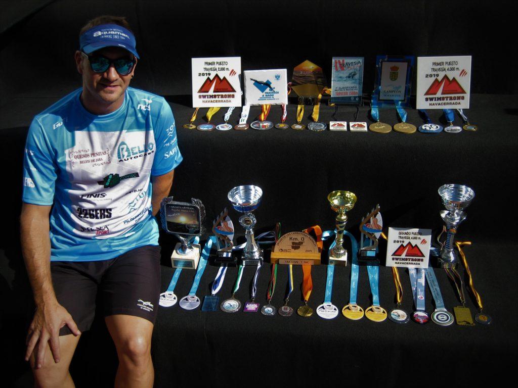 Rubén Gutiérrez hace balance de su larga y exitosa temporada de natación.